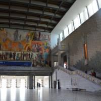 Oslo - interiér radnice - prohlídka vnitřních prostor