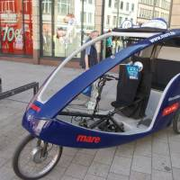 Hamburg - cyklotaxi
