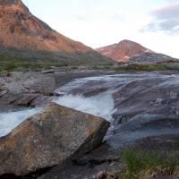 Nad Narvikem - polární den (foceno v cca 1.00)