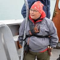 Sámka na lodi - chystá se na cestu za svými - 50 km