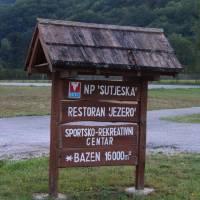 Národní park Sutjeska: východisko do hor je osada  Tjentište
