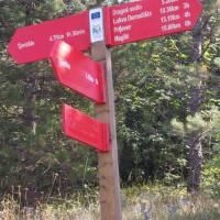 V pohoří Maglić: nové rozcestníky