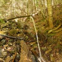 Ve vápencovém pohoří Maglić je voda vzácná