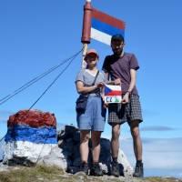 Na nejvyšší hoře Bosny a Herzegoviy, na Bosankém Maglići (2386 m)