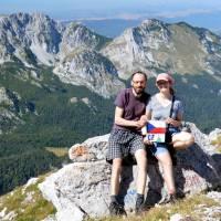 Na nejvyšší hoře Bosny a Hercegoviny, na Bosankém Maglići (2386 m)
