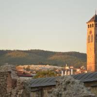 Sarajevo: muslimský hřbitov nad městem