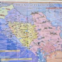 Mapa jugoslávkých válek