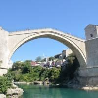 Mostar: znovu postavený starý most