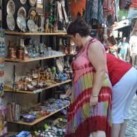 Mostar: centrum města je jedna velká tržnice