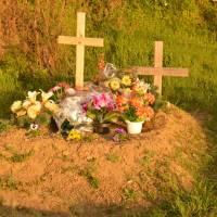 Hodejov - na hřbitově