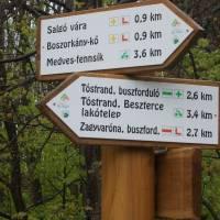 Maďarské rozcestníky