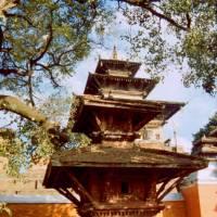 Centrum Káthmándú - náměstí Durbar: Taleju Temple