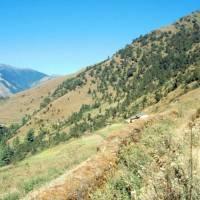 Krajina ve 3000 metrech