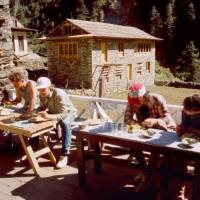 Oběd (Jirka, Ježek, Ruda i Ifča)