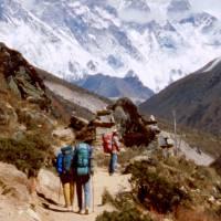 Cestou do Pheriche, vzadu Lhotse