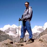Na Gokyu Peaku: Pavouk, výškový rekord!