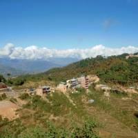 Nagarkot, osada nad Káthmándú