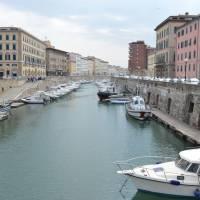 Livorno - staré město na kanálech, podobně jako  Benátky