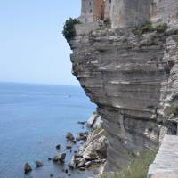 Bonifacio, město na úplném jihu Korsiky
