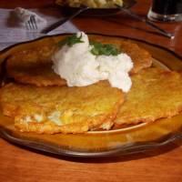 Oravský podzámok - bramboráky s brynzou