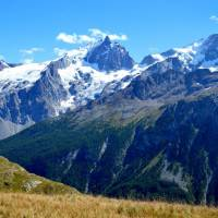 La Meije (3980 m) z planiny Emparis