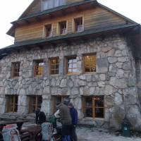 Chata Murowaniec, ráno