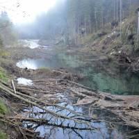 Račková dolina, malá přehrada