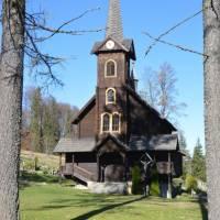 Tatranská Javorina, dřevěný kostel