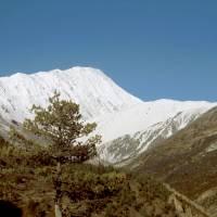 Údolí Khangsar Khola