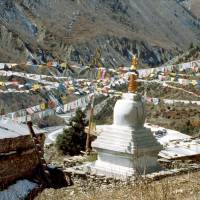 Osamělý budhistický klášter