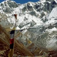 Chhulu West(6420 m), jihozápadní stěna