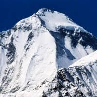 Vrchol Dhaulágirí (8167 m) od Yak Khary