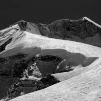 Sita Chuchura (6611 m) ze sedla French Pass (5360 m)