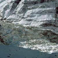 Ledovec přímo pod Dhaulágirí I