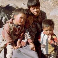 Langtang: děti
