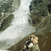 Langtang: ledovec pod Langtang Lirung