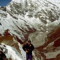 Langtang Lirung (7245 m) a Pavouk