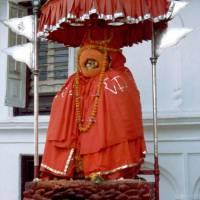 Káthmándú: vstup do královského paláce