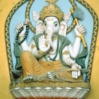 Pašupatináth: reliéf boha Ganéše