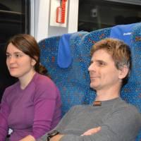 V přímém vlaku Brno - Kapfenberg (pod Hochschwabem)