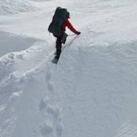 Čenda volí prvovýstup sněhovou stěnou