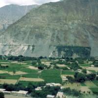 Z Karákóramské dálnice mezi městy Gilgit a Karimabád