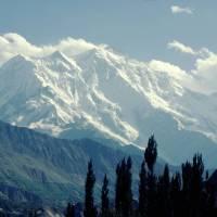 Karimabád, pohled na Rákapoši (7788)