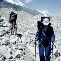 Ledovec Batura: Hanka a Jirka na ledovci