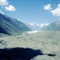 Ledovec Batura a Batura Muztagh