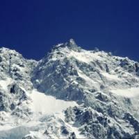Rupal: vrchol Nanga Parbat od Shaigiri