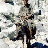Rupal: u Tarašinku, kluk na oslu