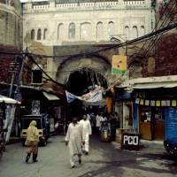 Láhaur (Lahore), brána do starého města