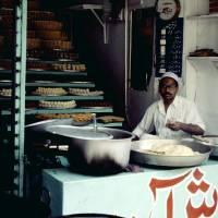 Péšávar, prodej sladkostí