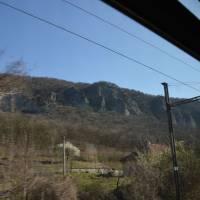 Nejmenší slovenské pohoří Burda z vlaku